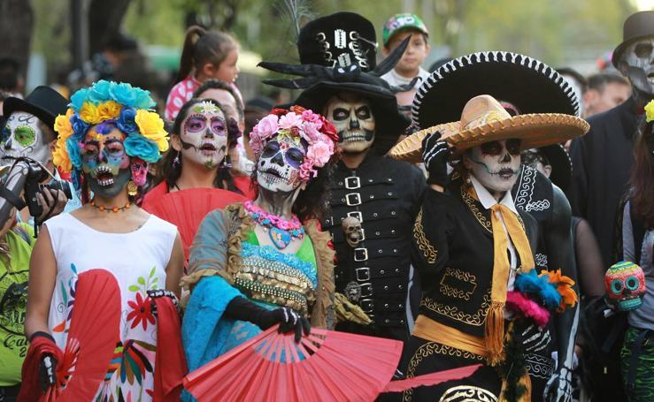 México honra a la Catrina