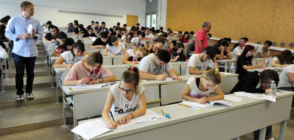 Las pruebas de acceso a la Universidad se mantendrán este curso sin apenas cambios