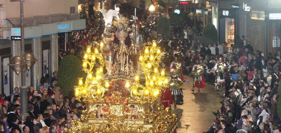 El Prendimiento y su tercio de penitentes irán a una procesión a Murcia