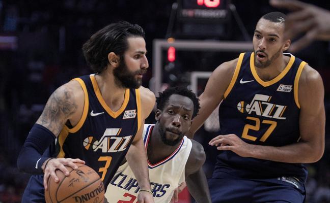 Los Clippers siguen en racha y no dan opción a los Jazz de Rubio
