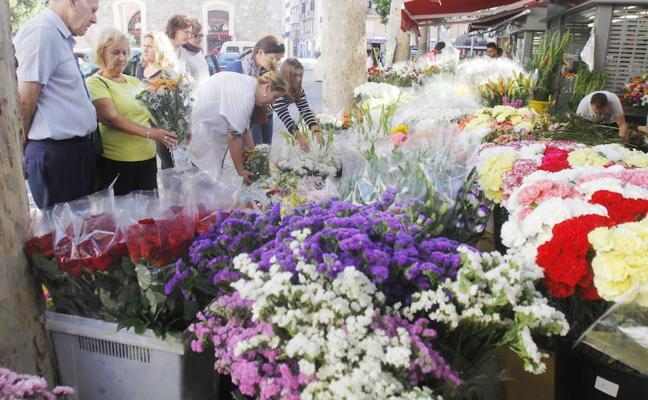 Las altas temperaturas bajan la calidad de las flores para el Día de Todos los Santos