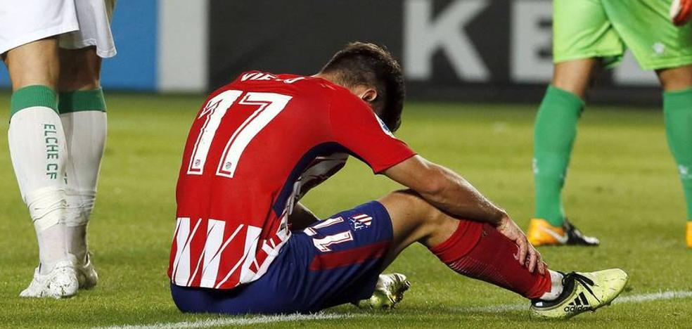 El gol abandona al Atlético