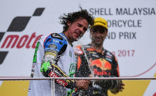 Morbidelli disfruta en otra exhibición de KTM