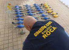 Tres detenidos por el robo de contadores agrícolas por valor de 15.000 euros