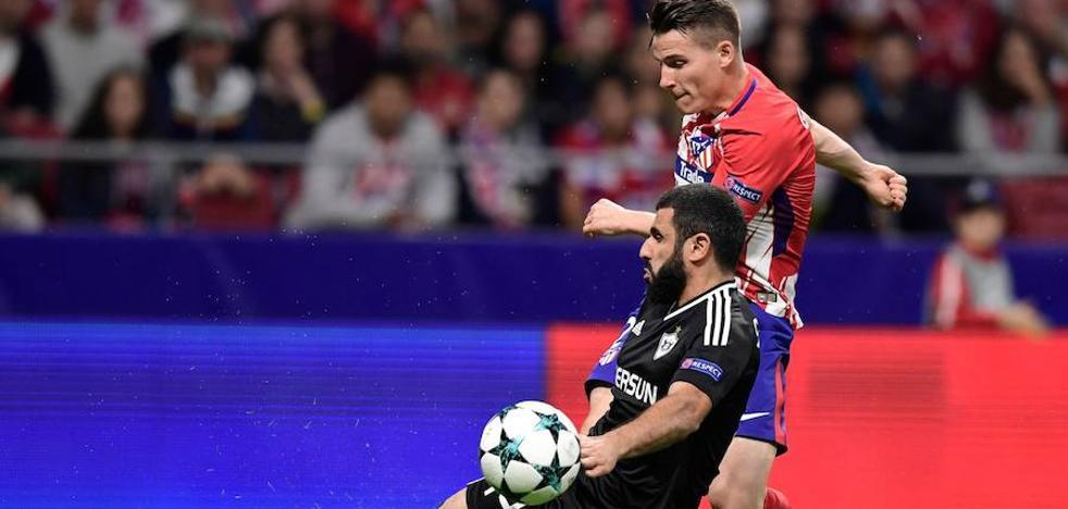El Atlético fracasa en ataque y defensa