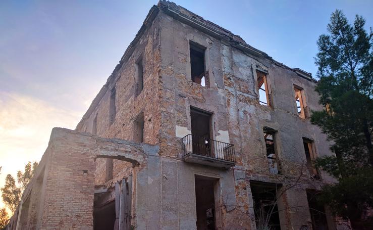 Ruinas del orfanato de El Valle