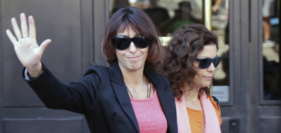 Juana Rivas se reencuentra con sus hijos en Italia y confía en obtener su custodia