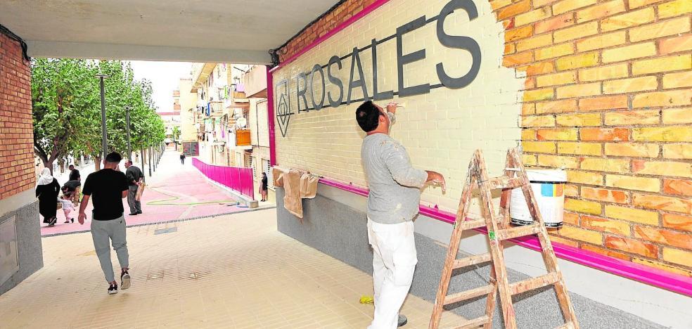 La segunda fase de rehabilitación de Los Rosales llegará en 2018 a otras 275 casas