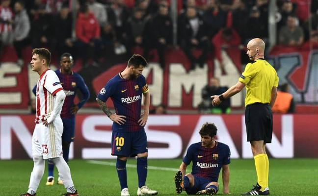 El Barça frena, pero no se detiene