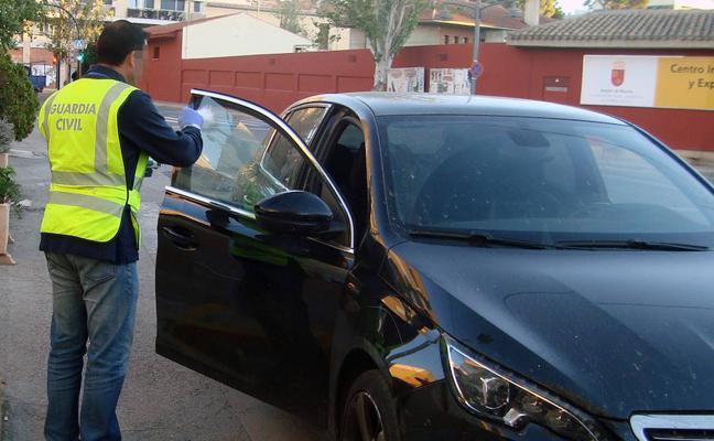 Un detenido por cometer once robos en vehículos en Jumilla