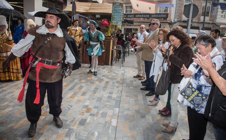 El casco histórico de Cartagena vuelve al siglo XVII