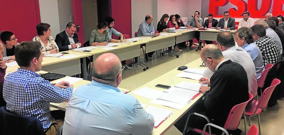 Las trece agrupaciones del PSOE de Murcia elegirán a su líder en primarias