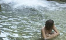 Las pozas del río Alhárabe
