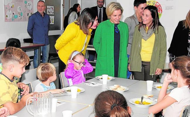 Inauguran los nuevos comedores escolares