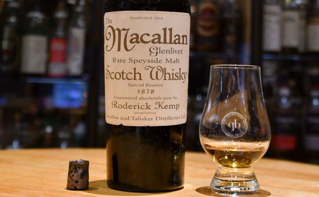 El whisky de 9.000 euros el chupito era falso