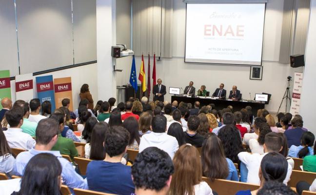 Inauguración del curso en ENAE Business School