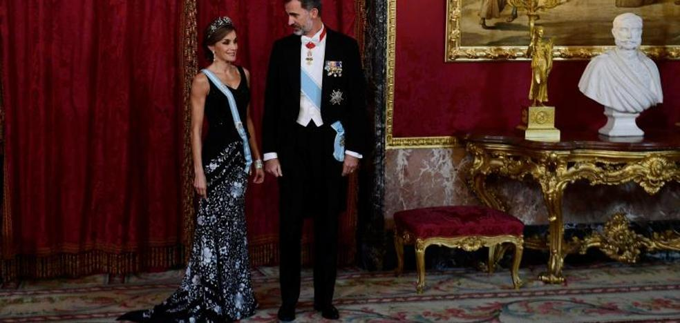 Letizia se reencuentra con Lorenzo Caprile