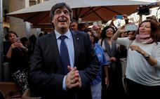 Puigdemont está «absolutamente convencido» de que ganarán los partidos contrarios al 155