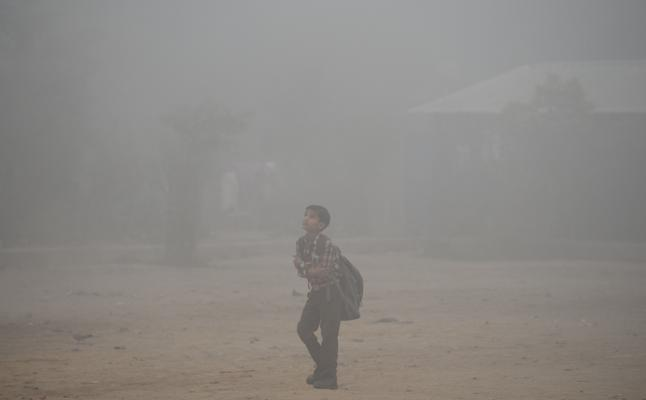 Cierran todas las escuelas de Nueva Delhi debido a la contaminación