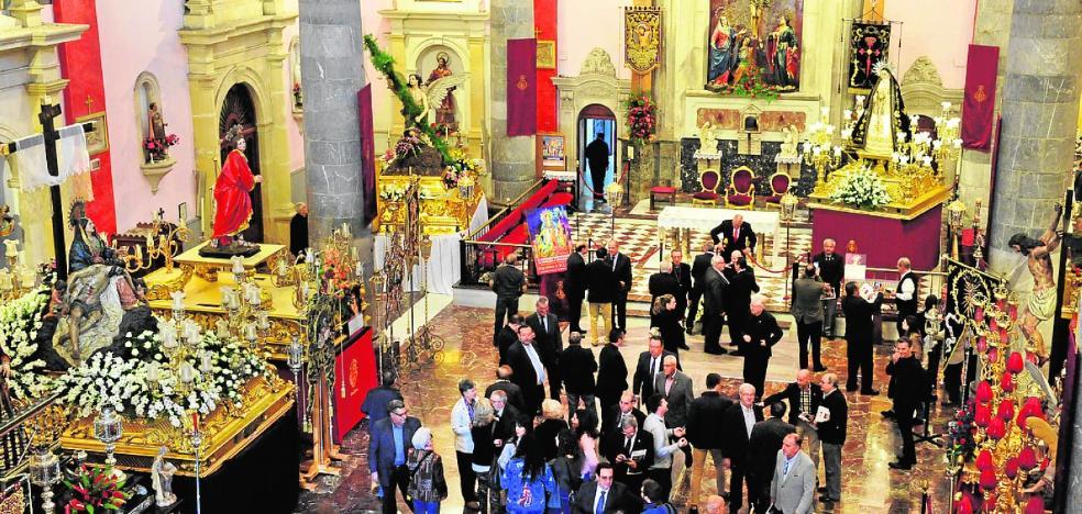 Murcia espera una afluencia masiva de visitas durante la procesión del sábado