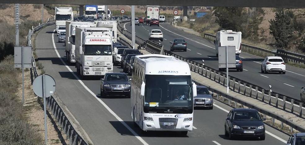 Medio Ambiente informa favorablemente del tercer carril de la A-7 entre Orihuela y Murcia