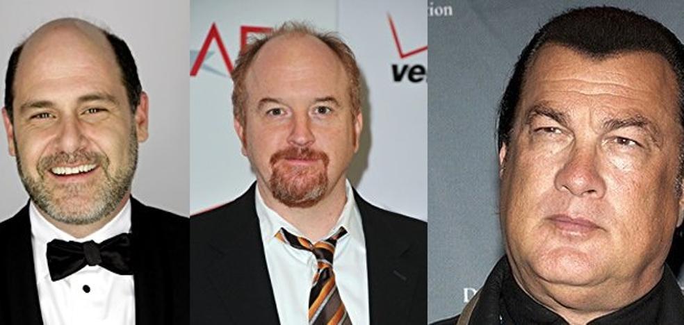 Mathew Weiner (Mad Men), Louis C.K. y Steven Seagal, acusados de acoso sexual