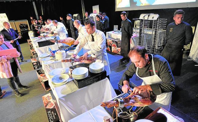 Los mejores cortadores de jamón clausuran SEPOR
