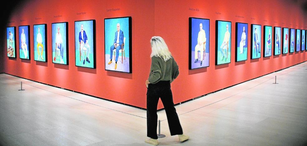 David Hockney, contra la tiranía de los selfis