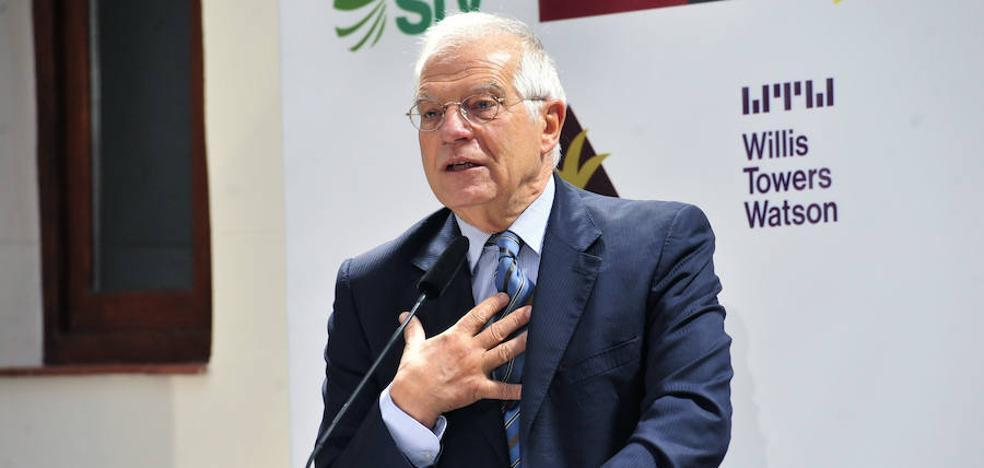 Borrell: «Cuantos menos responsables políticos estén en prisión preventiva, mejor»