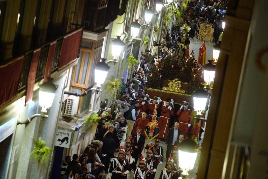 Histórica procesión de todas las cofradías de la Región