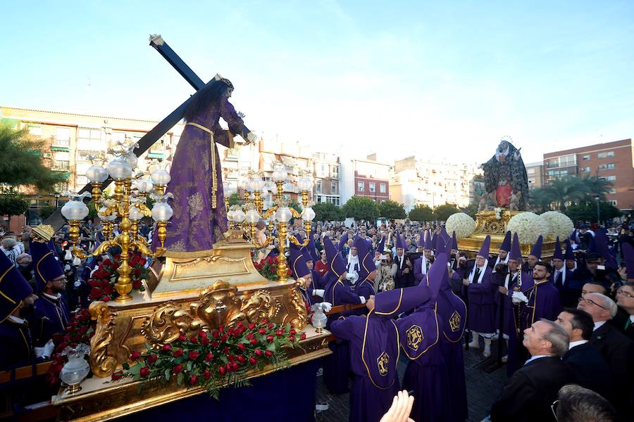 Cofradías de toda la Región toman Murcia en una histórica procesión