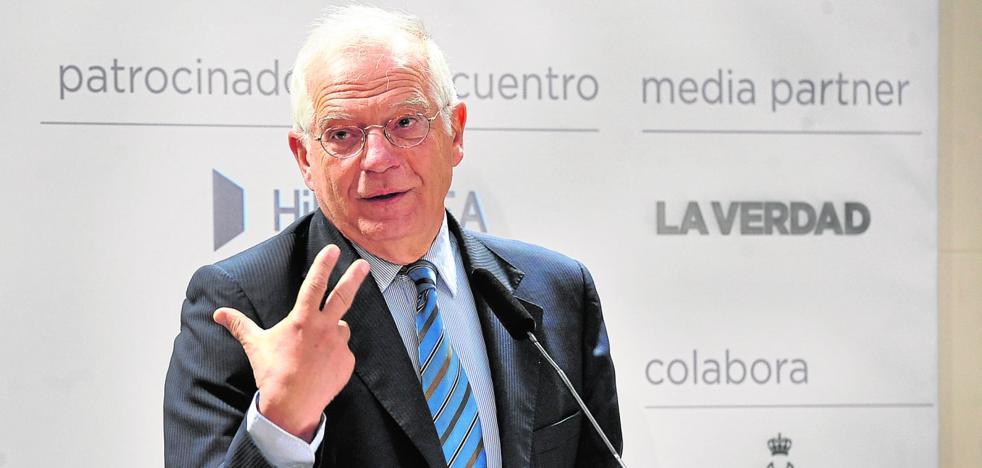 Borrell: «El futuro de España depende de lo que pase en las elecciones de Cataluña»