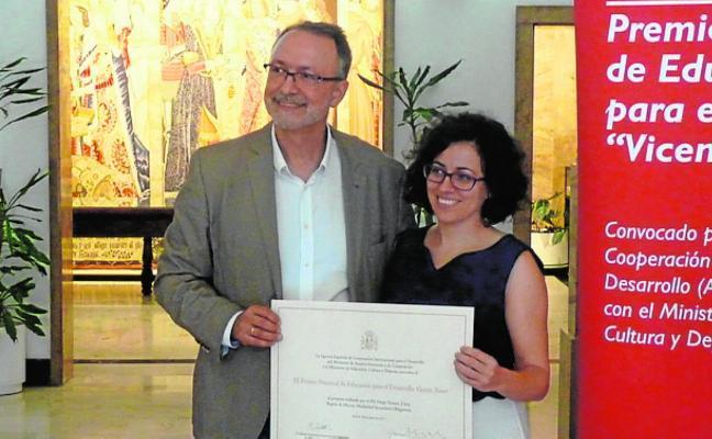 El IES Diego Tortosa se hace con el Premio Vicente Ferrer