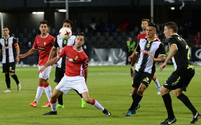 Las mejores imágenes del partido entre Cartagena y Real Murcia