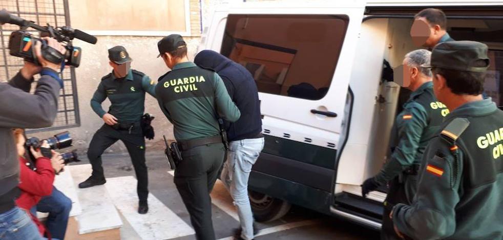 Prisión provisional para el presunto autor del crimen de Águilas