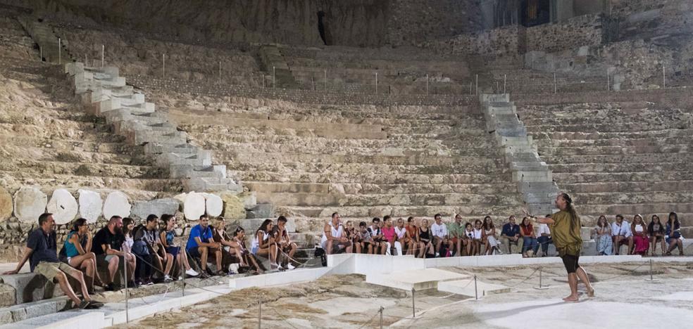 Nuevo récord del Teatro Romano, con 200.000 visitantes en solo diez meses