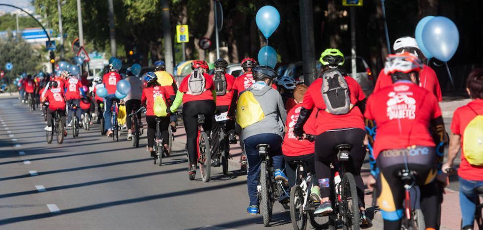 Murcia pedalea por la diabetes