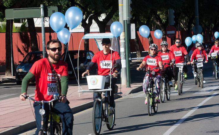 Murcia 'pedalea por la diabetes'