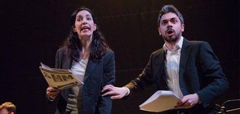 'Crímenes', lectura dramatizada