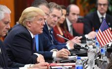 Trump defiende la relación con Rusia y asegura que China presionará a Corea del Norte