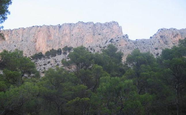 Un valle vertical y misterioso