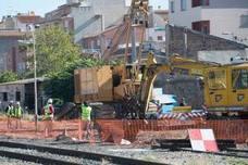 Intensifican la vigilancia para que Aldesa ejecute el soterramiento y retire 1,1 kilómetros de vías