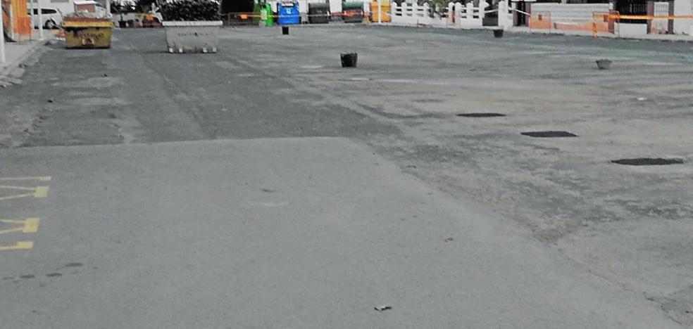 Eliminan la cubierta del parking junto a la playa de Mar de Cristal