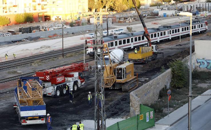 La máquina del soterramiento ya está en Murcia