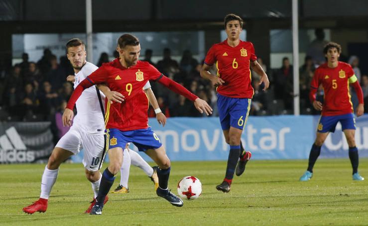 España gana a Eslovaquia (5-1) con una gran segunda parte en Cartagena