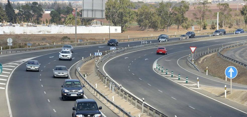El tráfico en la salida de La Manga se mantedrá cortado durante dos días