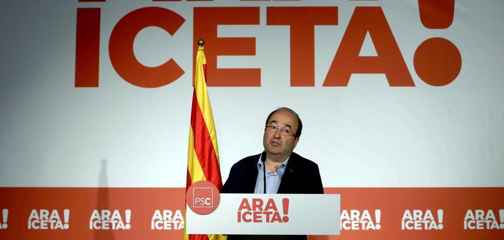 Iceta: «No haré presidente ni a Junqueras ni a Puigdemont»