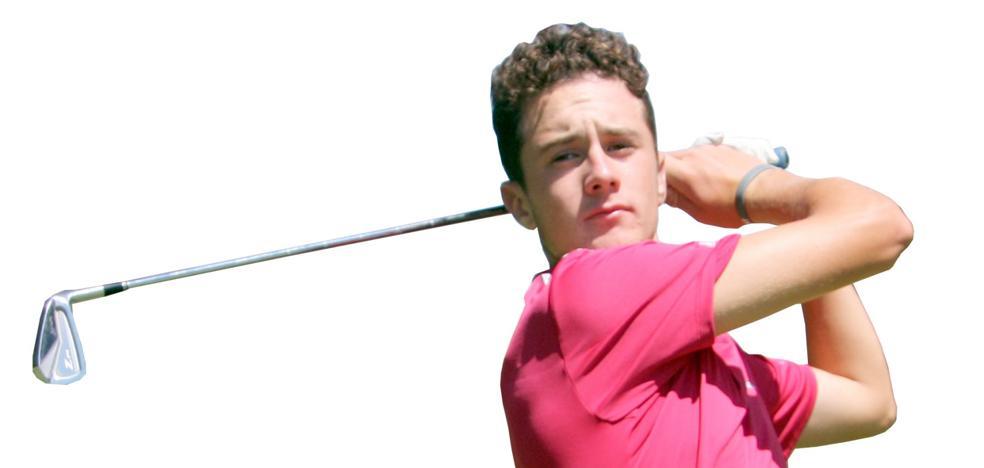 «Jugando al golf soy una persona feliz»