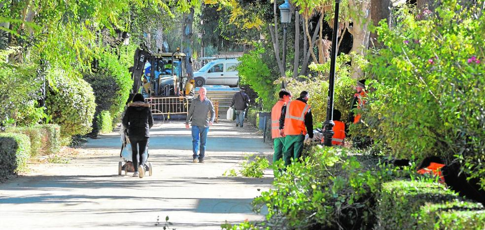 La alameda de Ramón y Cajal recibe una renovación integral treinta años después