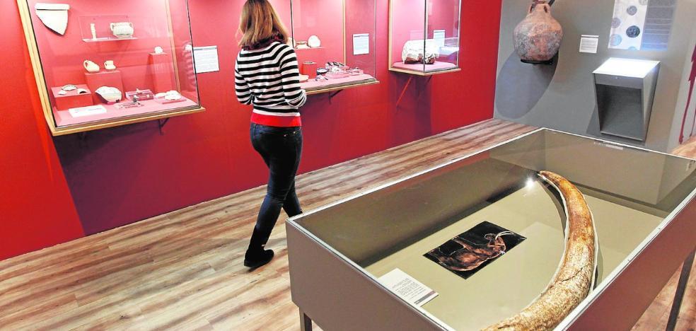 El Museo Arqueológico muestra en siete paradas el trabajo de diez años